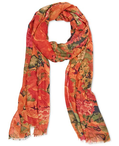 Description: Patricia Nash Vintage Print Scarf