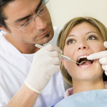 The dental process when getting a filling